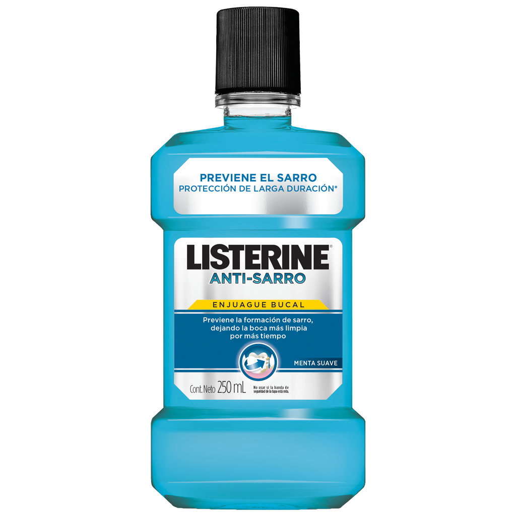 Enjuague bucal LISTERINE® Anti Sarro