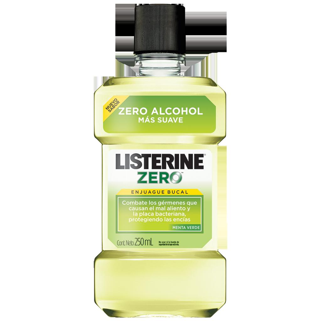 Enjuague bucal LISTERINE® ZERO™ Menta Verde